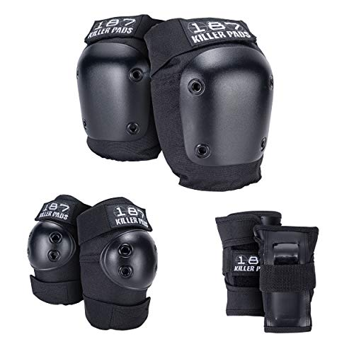 Killer Pads Kinder Schutzausrüstung Protection Junior Six Pack, Schwarz, One Size