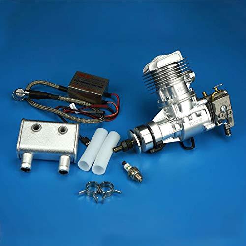 deguojilvxingshe DLE20RA 20 CC Motor de gasolina, 2,5 CV / 9000 rpm, monocilíndrico de 2 tiempos, refrigerado por aire, para aviones de modelos RC