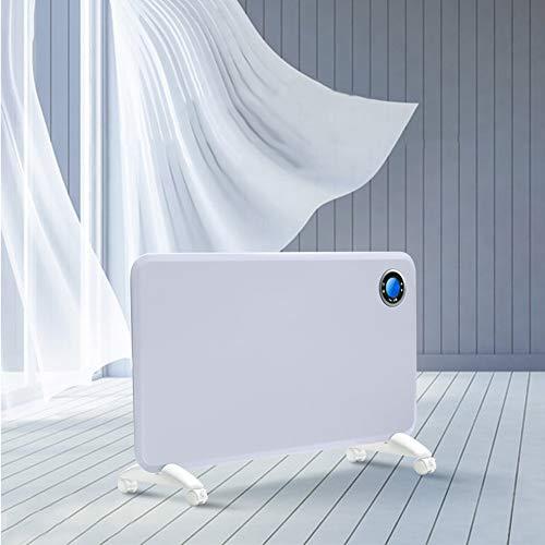 BUKEHANWEI Radiadores Bajo Consumo Electricos Programable, Calefactor Electrico Baño Pared 2000W, Acumuladores...