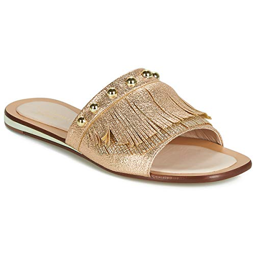 TOSCA BLU BIBI Slippers/Klompen dames Goud Leren slippers