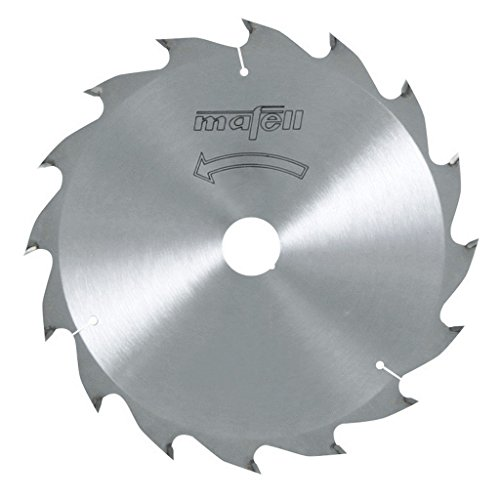 Mafell zaagblad HM, 185 x 1,4/2,4 x 20 mm, Z 16, WZ