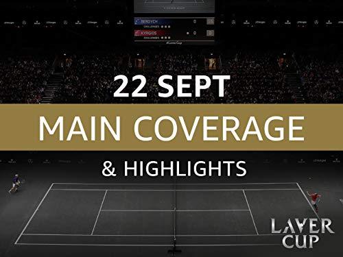 Laver Cup 2019 - 22. September Übertragung und Höhepunkte