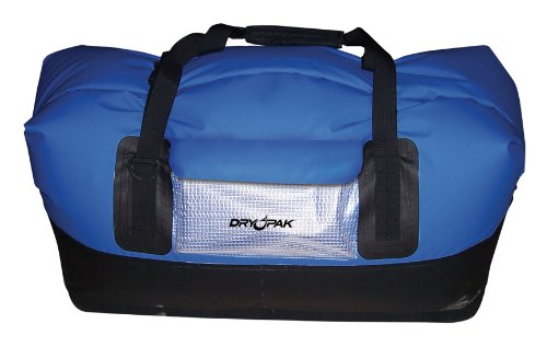 Kwik tek Dry Pak Waterproof Duffel Bag - DP-D2BK, XL, Negro