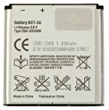 Bateria Compatible con BST-38 para Sony Ericsson C510,C902,C05,K770i, K850i,R300,R306,S312,S500i,T303,T650i,W580i,W760i,W902,W980,W995,Z770i,Z780,F100/ X10 Mini Pro(U20i)