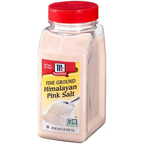 McCormick Fine Pink Himalayan Salt (Pink Salt for Cooking), 26 oz