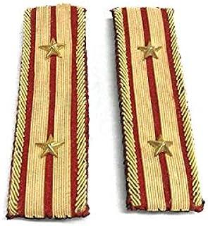 旧日本陸軍 佐官肩章 中佐 レプリカ◆軍装 軍服 撮影用 コレクション