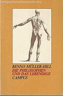 Die Philosophen und das Lebendige (German Edition)