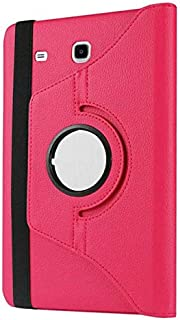 "Capa Giratória Tablet Samsung Galaxy Tab A6 A7 tela 7.0"" Polegadas SM-T285 T280 - Pink"