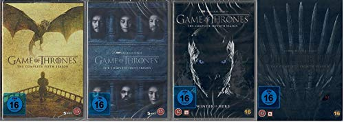 Game of Thrones Staffel 5-8 (5+6+7+8, 5 bis 8) [DVD Set] [EU Import mit Deutscher Sprache]
