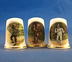 Beatles Tour Posters Set of Three Thimbles Birchcroft Porcelain China Collectable