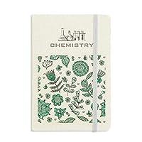 植物の葉緑の花を描く 化学手帳クラシックジャーナル日記A 5