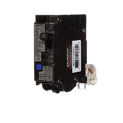 Murray MPA115AFC 15-Amp Single Pole 120-volt Plug-On Combination AFCI Breaker