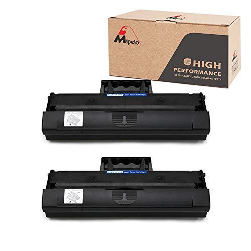 Mipelo MLT-D111S D111S Cartucce Toner, 2 Nero Sostituzione Compatibile per Xpress M2070FW M2026W M2070 M2026 M2070W M2020 M2020W M2022 M2022W Stampante, 1000 Pagine per MLT-D111S