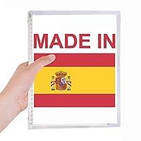 スペインの国が好きで 硬質プラスチックルーズリーフノートノート