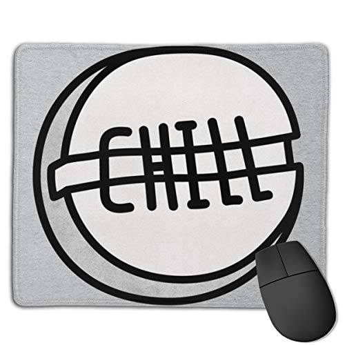Chill Pill Customized Designs Non-Slip Rubber Base Gaming Mouse Pads for Mac,22cm×18cm, Pc, Computers. Ideal for Working Or Game