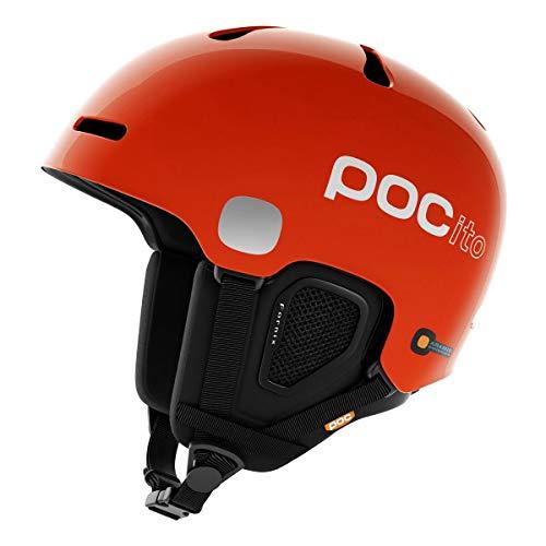 POC Pocito Fornix Kinder Skihelm, Pocito Orange, XS-S
