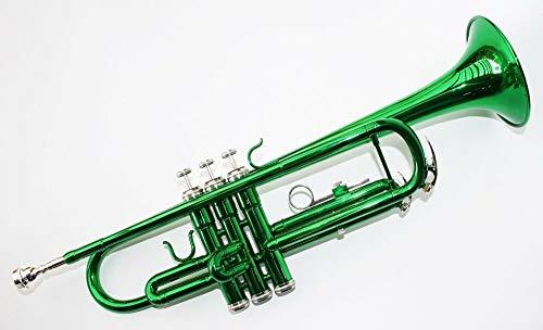 Cherrystone Bb Trompete mit Koffer und Zubehör in grün