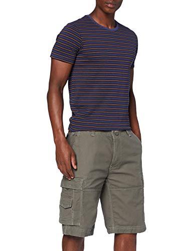 Brandit Vintage Shorts Pantalones Cortos Cargo, Oliv, 5XL para Hombre
