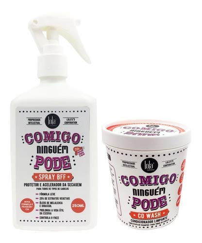 Kit Comigo Ninguem Pode Lola Cosmetics - Condicionador Limpante + Spray Bff Kit