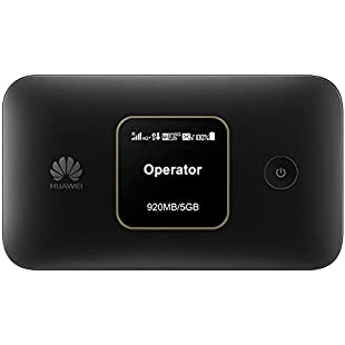 Huawei E5785 Black, 4G/ 300Mbps Travel Mobile Wi-Fi Hotspot with Long-lasting 3000mAh Battery - Unlocked to all Networks