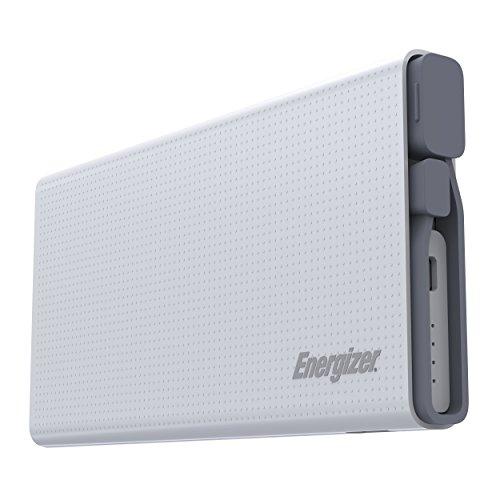 Energizer Dual Powerbank Ultimate für Smartphone, Tablet, Fitness Tracker, Kamera, Bluetooth Speaker etc. [10000mAh I QuickCharge 3.0 I 2.1A Output I Sicherheitsfeatures] - UE10004QC