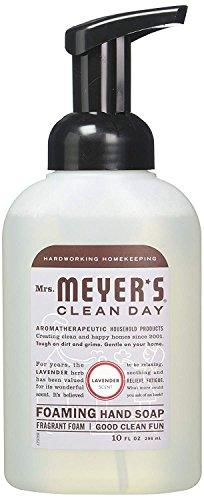 Mrs. Meyer's Clean Day Foaming Hand Soap - Lavender 10 fl oz (296 ml) Liquid (Pack - 3)