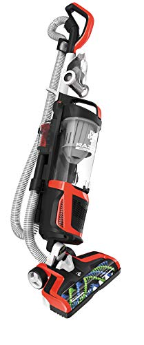 Dirt Devil Razor Vac Bagless Multi Floor Corded Upright Vacuum Cleaner with Swivel Steering, UD70350B, Red