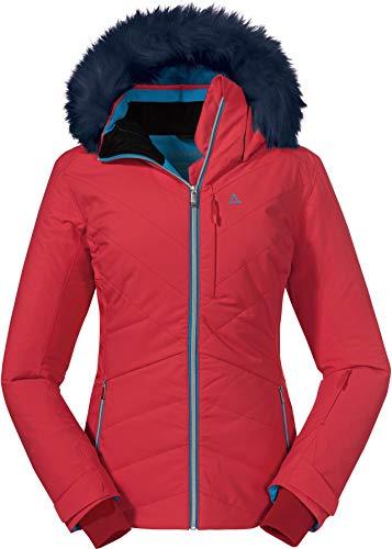 Schöffel Damen Ski Jacket, rot (hibiscus), 40