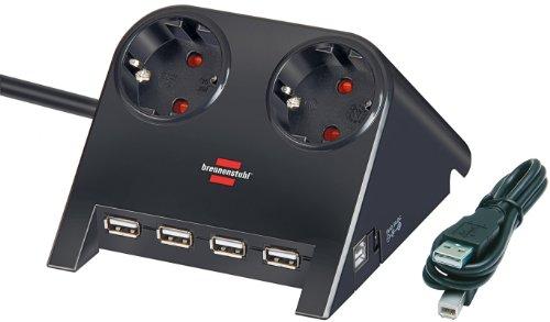 Brennenstuhl Desktop-Power-Plus - Power Strip
