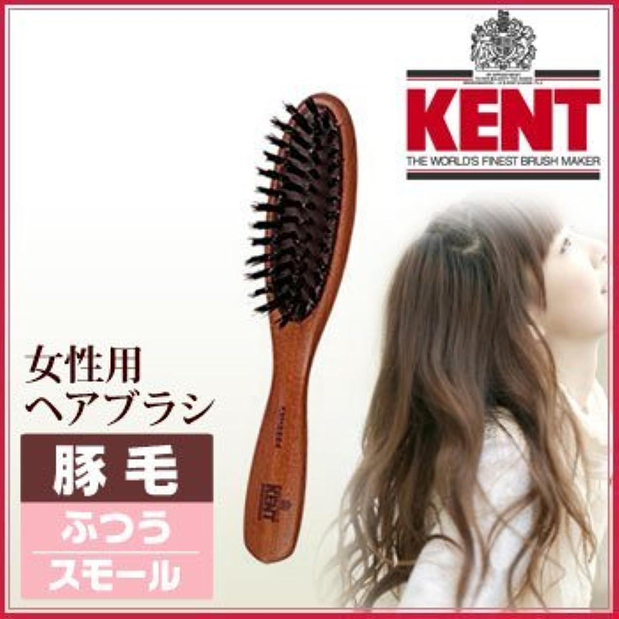 膨張する密接にショートカットKENT レディース ブラッシングブラシ[スモールサイズ/豚毛ふつう]KNH-2224