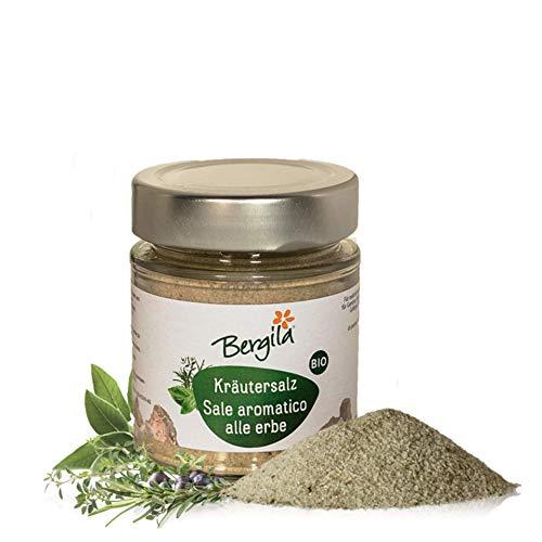 Bergila Sale aromatico alle erbe 150 g BIO - condimento per alimenti - 100% naturale di materia prima biologica - qualità controllata e certificata