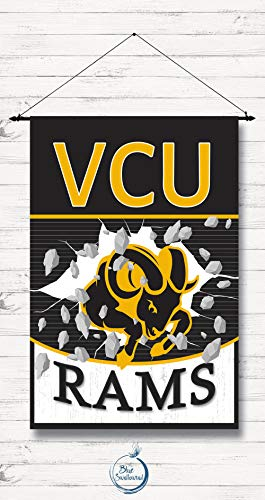 Cherrytees Personalized Garden Flag-VCU House Flag, Garden Flag, College, Basketball, Rivalries, VCU, Sports-Custom to Select Style