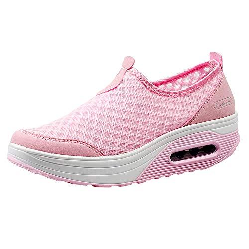 Vovotrade Chic Plateau Sneakers, dames, schoenen, shape-up fitnessschoenen, outdoor-mesh, casual, sportschoenen, dik-soled Air Cushion schoenen, turnschoenen