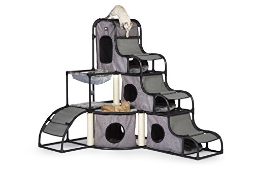 PREVUE PET PRODUCTS Catville Tower Gray 7240, Grau