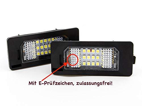 2 x TOP Module 18 SMD LED Kennzeichenbeleuchtung Nummernschildbeleuchtung (135X)