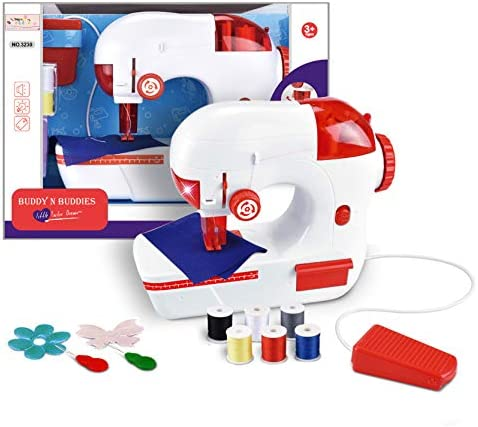 Buddy N Buddies Sewing Machine Toy for Kid 3 Portable Sewing Machine Toy for Toddlers Real Action product image