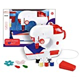 Buddy N Buddies Sewing Machine Toy for Kid 3+, Portable Sewing Machine Toy for Toddlers, Real Action Educational Manual Electric Children Sewing Machine toy Set