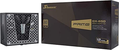 Seasonic Prime Gx-650 Fully Modular PC-Power Supply 80Plus Gold 650 Watt