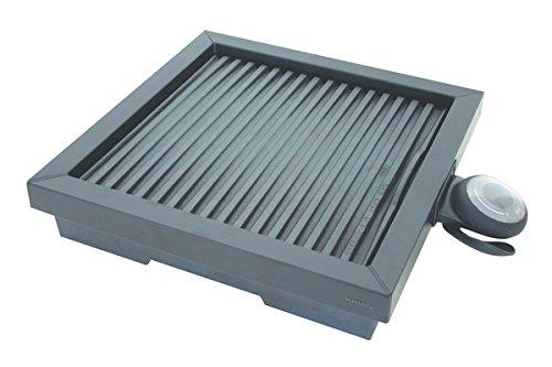 Inventum HG100 Elektrische tafelbarbecue, 1800 W, zwart