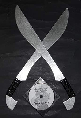 Kalaj Kutter Aluminum Practice Practice Sword Bolo Filipino Martial Arts Flow Pattern Instruction DVD