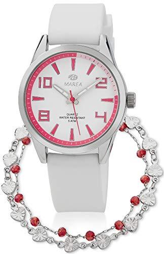 Reloj Marea Mujer B21189/13 + Pulsera de Plata
