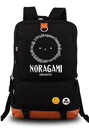 Siawasey Noragami Anime Yukine Cosplay Luminous Rucksack Schultertasche Schultasche