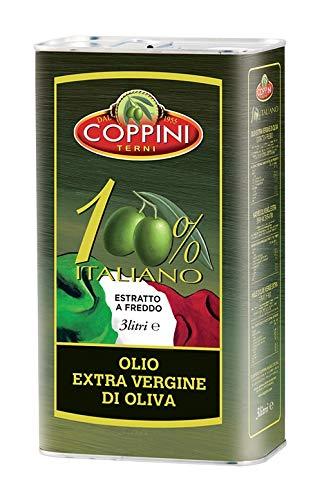 Coppini Terni Olio extra vergine di oliva Coppini 100% Italiano - 3 L