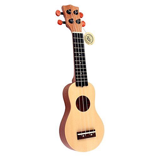 D DOLITY Kids Guitar, 17 inch Kids Ukulele Guitar Child Guitar Toy, 4 String Toy Guitar The Best Childrens Guitar Gift for Girls and Boys