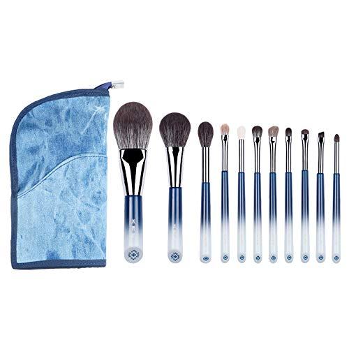 LSWL Pinceau de maquillage-The Butterfly Lovers maquillage doux 11pcs Pinceaux cosmétiques Tool & penspowder Fondation beauté-fard à paupières (Color : 11pcs)