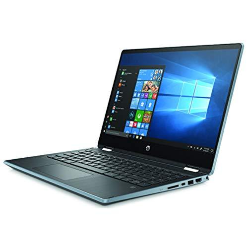 "HP Pavilion x360 14-dh1016ns Nero, Blu Ibrido (2 in 1) 14"" - 1366x768 Touch - Intel Core i3 10 , tastiera spaniola QWERTY"