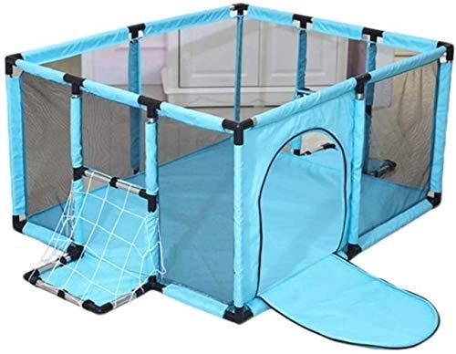 Clôture LHY 120 * 100/120 * 180cm Jeu intérieur Enclosure Accueil Jeu avec bébé bébé Ramper Tapis de sécurité Enfant en Bas âge Repos assuré (Color : Green, Size : 120x100cm)