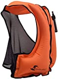 OMOUBOI Snorkel Vests Adults Inflatable Floatage Jackets Lightweight Kayak Buoyancy Vest Portable...