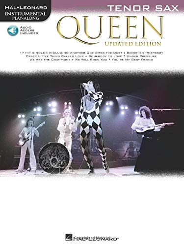 Queen - Updated Edition: Tenor Sax Instrumental Play-Along
