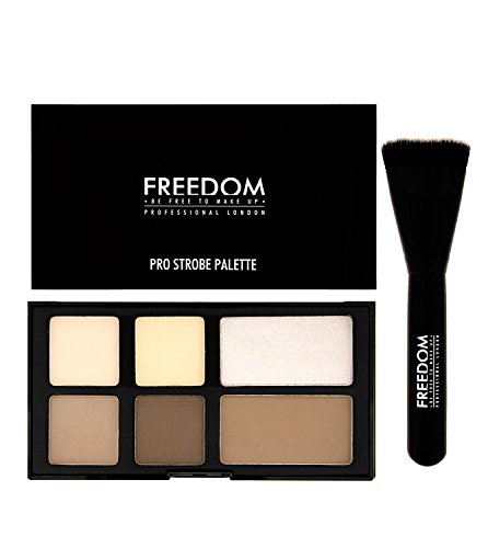Freedom Makeup London - Pro Strobe Kontur Puder-Palette Mit Pinsel